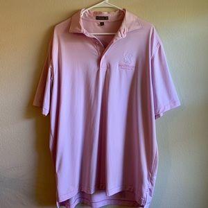 Men's Peter Millar Golf Logo Shirt